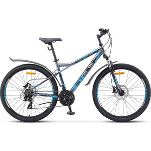Велосипед Stels Navigator-710 D 27.5 (V010) 18 серый/черный/серебристый