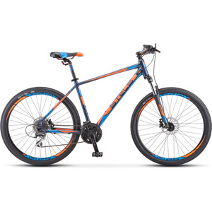 цена на Велосипед Stels Navigator-750 D 27.5 (V010) 17 синий/оранжевый