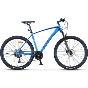 Велосипед Stels Navigator-760 D 27.5 (V010) 17.5 синий велосипед stels navigator 650 d 26 v010 2018