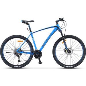 Велосипед Stels Navigator-760 D 27.5 (V010) 19 синий велосипед stels navigator 650 d 26 v010 2018