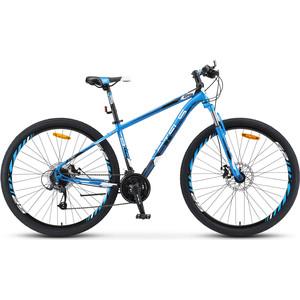 Велосипед Stels Navigator 910 MD 29 V010 (2019) 16.5 синий/черный велосипед stels navigator 830 md 2017
