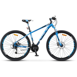 Велосипед Stels Navigator 910 MD 29 V010 (2019) 18.5 синий/черный велосипед stels navigator 830 md 2017
