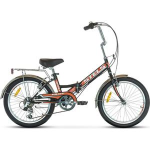 Велосипед Stels Pilot 350 20 Z011 (2018) 13 черный/оранжевый