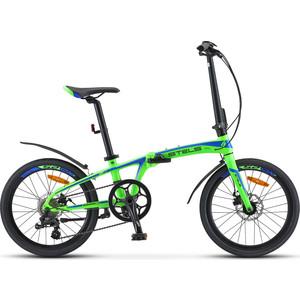 Велосипед Stels Pilot-680 MD 20 (V010) зеленый/синий