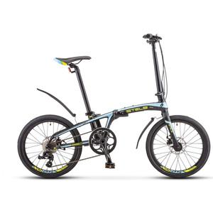 Велосипед Stels Pilot-680 MD 20 (V010) черный/синий/зеленый