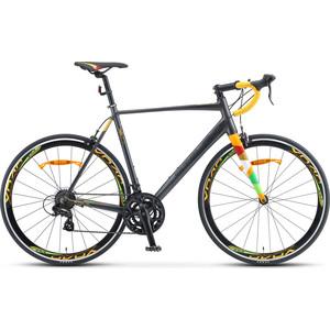 Велосипед Stels XT280 28 V010 (2020) 23 серый/желтый велосипед stels xt280 28 v010 2020 23 серый желтый