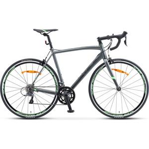 Велосипед Stels XT300 28 V010 (2020) 21.5 серый/зеленый велосипед stels xt280 28 v010 2020 23 серый желтый