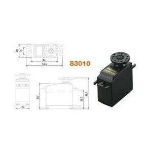Аналоговая сервомашинка с большим усилием Futaba SERVO S3010 - FUS3010 servo plug using for jr futaba