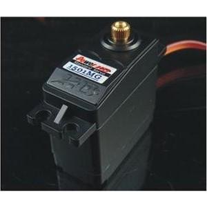 Сервопривод аналоговый Power HD 17 кг 0.14с 6V (металл. шестерни) 40.7x20.5x39.5 мм - HD-1501MG