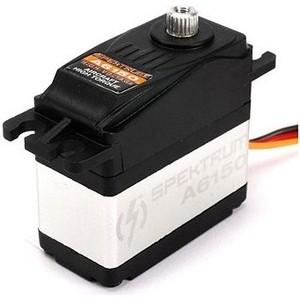 Цифровая влагозащищенная сервомашинка Spektrum A6150 HV Hi-Torque MG (цифровая, влагозащита) - SPMSA6150