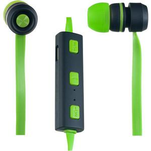Наушники Perfeo SOUND STRIP зеленые/черные