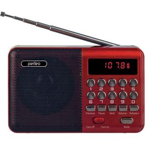 Радиоприемник Perfeo PALM FM+ (i90-red) red