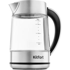 Чайник электрический KITFORT KT-690 чайник holt ht kt 005 white