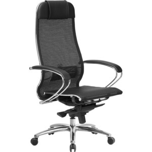Кресло Метта Samurai S-1.03 черный плюс