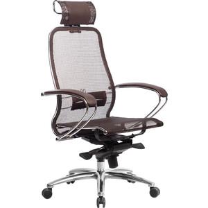 Кресло Метта Samurai S-2.03 темно-коричневый кресло метта samurai s 3 03 синий