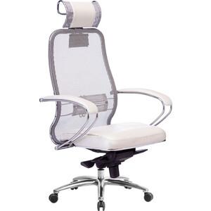 Кресло Метта Samurai SL-2.03 белый лебедь