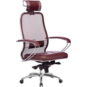 Кресло Метта Samurai SL-2.03 темно-бордовый