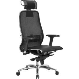 Кресло Метта Samurai S-3.03 черный плюс