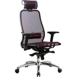 Кресло Метта Samurai S-3.03 темно-бордовый