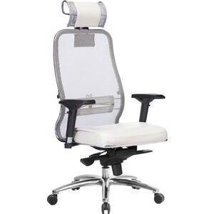 Кресло Метта Samurai SL-3.03 белый лебедь