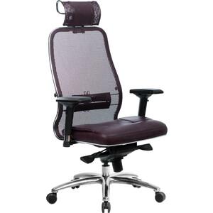 Кресло Метта Samurai SL-3.03 темно-бордовый