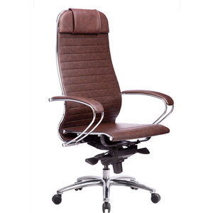 Кресло Метта Samurai K-1.03 темно-коричневый
