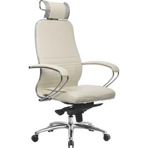 Кресло Метта Samurai KL-2.03 белый лебедь