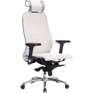 Кресло Метта Samurai K-3.03 белый лебедь фото