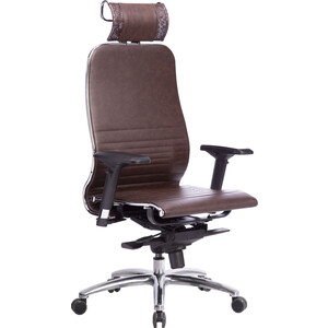 Кресло Метта Samurai K-3.03 темно-коричневый