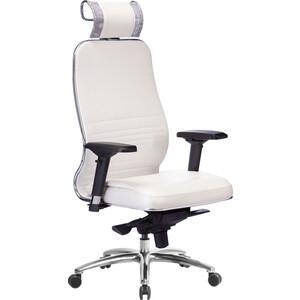 Кресло Метта Samurai KL-3.03 белый лебедь