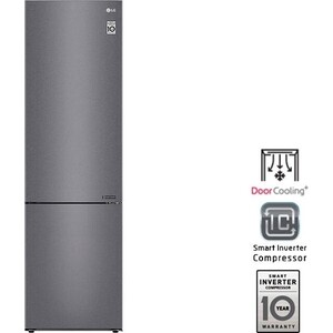 Холодильник LG GA B509CLCL холодильник lg ga b499yecz