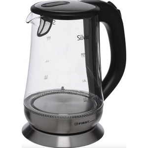 Чайник электрический FIRST FA-5405-4 Black стайлер first fa 5669 4 black