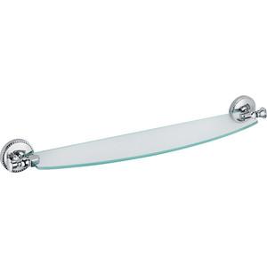 Полка стеклянная Fixsen Adele хром (FX-55003)
