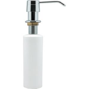 Дозатор для мыла Fixsen Hotel белый, хром, пластиковая помпа (FX-31012C)