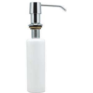 Дозатор для мыла Fixsen Hotel белый, хром, металлическая помпа (FX-31012D)