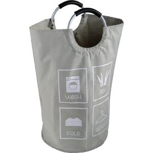 Корзина для белья Fixsen серый, 63 литра (FX-1011)