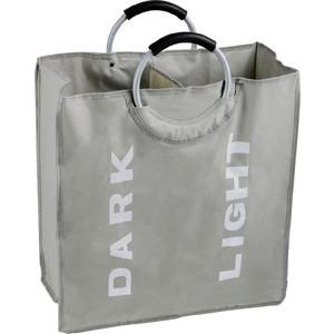 Корзина для белья Fixsen серый, 58 литров (FX-1021)