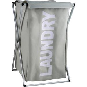 Корзина для белья Fixsen серый, 80 литров (FX-1023) фото