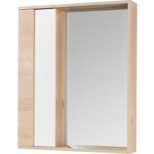 Зеркальный шкаф Акватон Бостон 60 с подсветкой, дуб эврика (1A240202BN010)