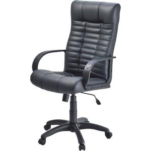 Кресло Фабрикант Атлант PL-1 кожа искусственная DO №350 черный