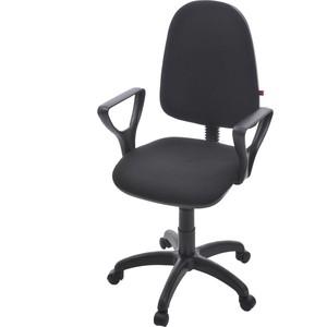 Кресло Фабрикант Престиж+ткань мебельная ТК-1 черный PL 600