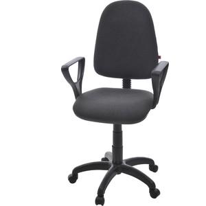 Кресло Фабрикант Престиж+ ткань мебельная ТК-2 темно-серый PL 600