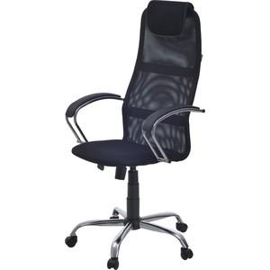 Кресло Фабрикант Бун ткань TW № 9 черный ткань S №11 черный кожа искусственная DO №350 черный Альфа (700) CH фото