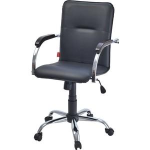 Кресло Фабрикант Самба G кожа искусственная DO №350 черный Альфа (600) CH самба орех (1031)