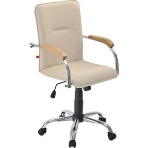 Кресло Фабрикант Самба G кожа искусственная DO №122 кремовый Альфа (600) CH самба CH бук (1007) стул креслов самба кв 10 100000 0406
