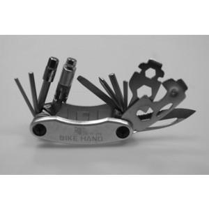 Ключи Bike Hand шестигранники 22 в 1 YC-279 расширенный, с ножом и выжимкой цепи