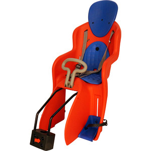 цена на Детское велосипедное кресло GHBIKE GH-511RED, быстросъемное, крепеж на подседельную трубу сзади, красное