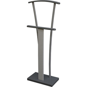 Вешалка костюмная Мебелик Галант 360 металлик/серый/графит