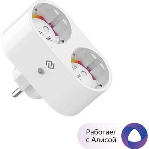 Фото - Умная розетка Digma DiPlug 110S EU VDE Wi-Fi белый электрический накопительный водонагреватель thermex if 80 v pro wi fi