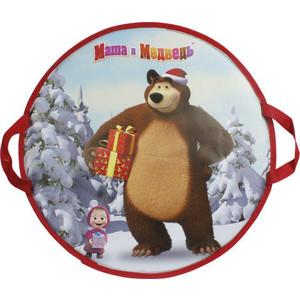 Ледянка 1Toy Маша и Медведь 52 см круглая
